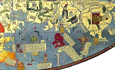 2. Portulan génois de l'Océan indien, 1471, selon Niccolo' de Conti