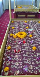 10. Temple sikh de Phahurat, lits des livres sacrés