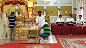 12. Temple sikh de Phahurat, offrandes