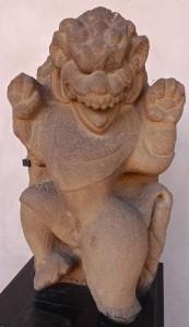 Lion gardien Cham, Indrapura, IX-Xe s.