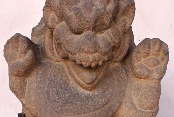 Lion gardien Cham, Indrapura, IX-X