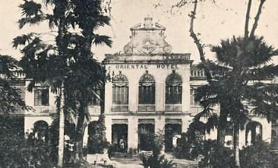 Hôtel Oriental à Bangkok (1910)