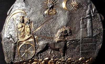 Aï Khanoum, plateau de la déesse Cybèle