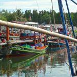 Ban Nam Chieo, bateaux de pêche