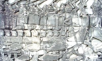 Attaque d'Angkor par les Cham