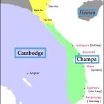Territoire des royaumes du Champa, extension maximale