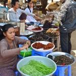 Marché, Kompong Cham (Cambodge)