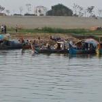 Pêcheurs cham, Phnom Penh (Cambodge)