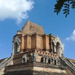 Wat Chedi Luang, chedi principal aux éléphants