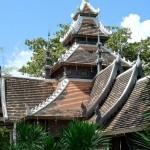 Wat Chedi Luang, viharn en style shan