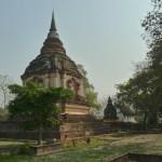 Wat Chedi Yot, chedi abritant les cendres du roi Tilokarat