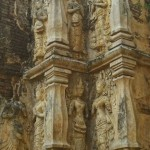 Wat Chet Yot, bas-relief représentant des apsara/2