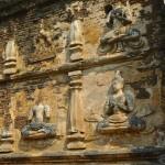 Wat Chet Yot, bas-relief représentant des apsara/1