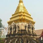 Wat Chiang Man, chedi aux éléphants