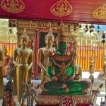 Wat Doi Suthep, statue du Bouddha de jade