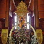 Wat Doi Suthep, temple Kue Na, statue du Bouddha