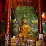 Wat Phuak Hong, bouddhas