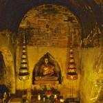 Wat U Mong, autel au fond d'un tunnel