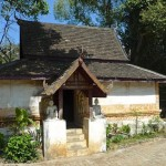 Wat Pa Da Et, ho trai (bibliothèque)
