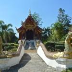 Wat Pa Da Et, ubosot et escalier
