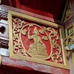 Wat Puttha En, ubosot, décoration