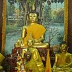 Wat Puttha En, viharn, statue du Bouddha