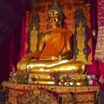Wat Yang Luang, statue du Bouddha (500 ans)
