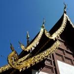 Wat Yang Luang, viharn, détail du toit