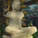 Statue de Jayavarman VII, Pagode d'argent, Phnom Penh