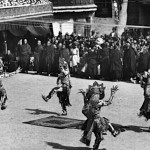 Danse cham au Tibet, Potala, Lhasa (photo Bruno Beger 19238-39)