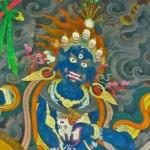 Penden Lhamo, détail de la figure