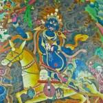 Penden Lhamo, peinture murale