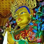 Tête du Bouddha Maïtreya