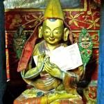 Statue du Lama Tsongkapa