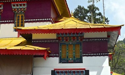 gangtok monastère enchey temple fenêtres:1 4.4.15