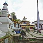 Temple principal et chörten