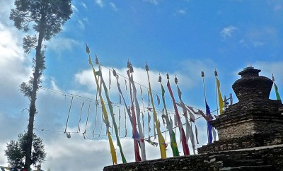 pelling monastère sanghak choeling chörten:5 1.4.15