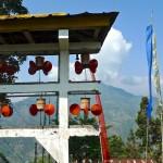 tashiding monastère moulins à prière ailés 3.4.15