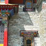 Temple principal, façade arrière (détail)