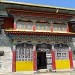 Temple principal, entrée