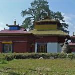 Pavillon des lampes à beurre et temple de Sambhaphadana