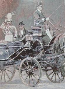 Rama V et Félix Faure