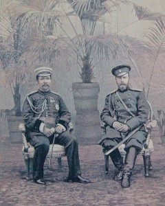 St. Pétersbourg, le roi Rama V et le tsar Nicolas II