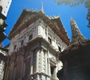 Bangkok, la salle du trône Chakri Mahaprasat aujourd'hui