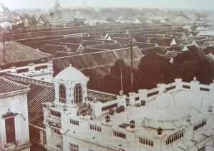 Bangkok, Palais royal, nouvelles constructions de Rama V
