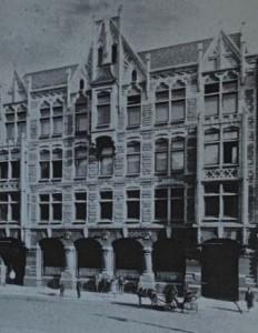 Le siège de Fabergé à St. Pétersbourg