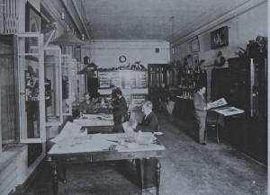 Siège de Fabergé, atelier de dessin