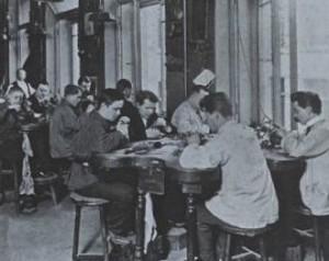 Siège de Fabergé, atelier de fabrication