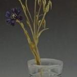 Bleuets dans un vase