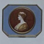 Boîte avec portrait de la tsarine Alexandra Fiodorovna